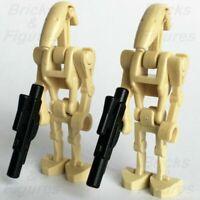 Lego Minifigure  Battle Droid w Blaster Star Wars Clone Wars  75043 75058