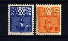 ST. PIERRE AND MIQUELON - 1947 - Segnatasse - 10 e 30 centesimi