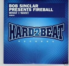 (G193) Fireball, What I Want - DJ CD