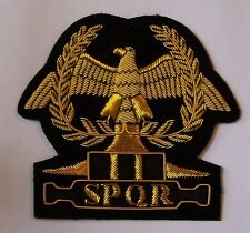 Roman Rome Caesar Pax Romana  Empire Army War Legion Battle Shield Eagle Patch X