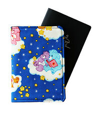 BABY'S PASSPORT COVER/FOLDER/WALLET - SLEEPY CARE BEARS by Graggie Australia*GA