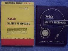 1951 KODAK MASTER PHOTOGUIDE IN ORIGINAL BOX