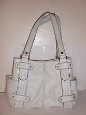 AUTHENTIC TIGNANELLO WHITE IMPERFECT HANDBAG NEW WITHOUT TAGS $159.00 MSRP