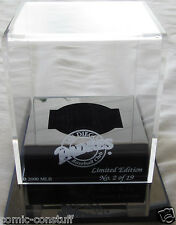 Autograph signed auto baseball acrylic display case etched San Diego Padres logo