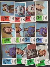 1974 O-PEE-CHEE WHA  Lot of  12 NM  RACERS MARINERS ROAD-RUNNERS WHALERS