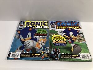 Archie SONIC THE HEDGEHOG KNUCKLES #10 SUPER SPECIAL # 11 Lot