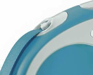 Flexi Vario roll leash - lead belt for dogs, Turquoise, X-Small, 3 mtr tape