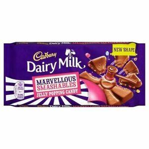 Cadbury Dairy Milk Chocolate Smashables Jelly Popping Candy NEW SHIPS WORLDWIDE