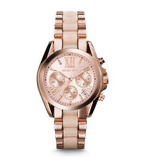 Michael Kors Women's Bradshaw Rose Gold-Tone Watch MK6066
