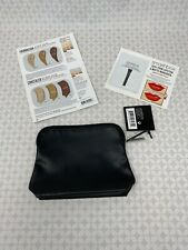 Smashbox Small Black Makeup Cosmetics Bags new travel pouch zipper