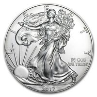 (Lot of 100) 1 Ounce 2017 Silver American Eagles .999 1oz.