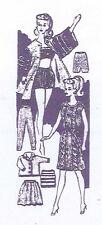 Vintage Knitting PATTERN 959 for 11.5 inch Barbie Midge Tressy Annette by Mattel
