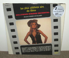 HOLLYWOOD STRINGS Les Plus Celebres Airs de Films,French dbl vinyl LP, Cavallero