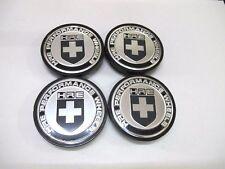 63mm Car Wheel Center HUB Caps Flat Badge EMBLEM C/Bk HRE PERFORMANCE BK Holder