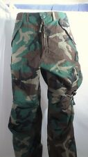 NOS New US Military Camo Extreme Cold Weather 6 Pocket Field Pants Size Med Reg