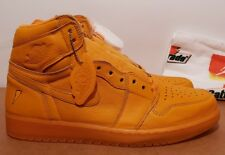 Size 12 Nike AIR JORDAN 1 RETRO HI OG G8RD GATORADE ORANGE PEEL New bred royal