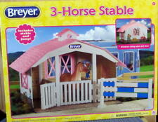 BREYER 3 HORSE STABLE CLASSIC HORSE SIZE #688