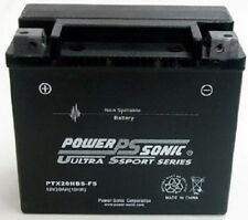 Power-Sonic PTX20HBS-FS 12V 290cca Motorcycle Battery replaces YTX20BS, ETX20