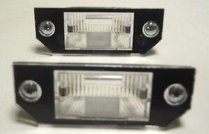 FORD C-MAX FOCUS 2003-2008 rear number plate lights 1 set LH=RH