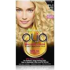 Garnier Olia Oil Powered Permanent Color, Lightest Cool Blonde 9 1/2.1 1 ea 2pk