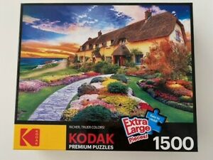 1500 pc jigsaw puzzle - perfect condition, no missing pieces