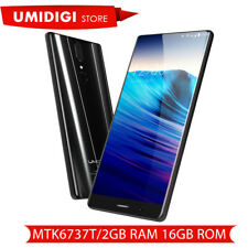 "UMIDIGI Crystal Android7.0 MTK6737T 5.5"" 4G Smartphone 13MP16GB 2-SIM Cellulare"