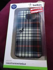 Belkin Mix It Up Samsung Galaxy S6 Case  PLAID,  Free shipping