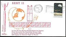 """US Space Cover 1970. Satellite """"SERT 2"""" Launch. Ion Engines Test"""