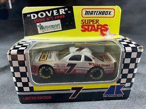 MATCHBOX #7 JIMMY HENSLEY NASCAR NIB 1993 WHITE ROSE FORD THUNDERBIRD 1:64