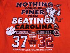 Clemson University, South Carolina State Champs Lng Slv Tshirt, Size Small, NEW!
