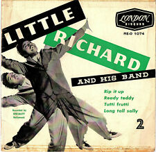 "LITTLE RICHARD  AND HIS BAND - 2   EP  FRANCE  LONDON  "" RIP IT UP ""  [1]"