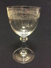 Baccarat hauteur ± 10, 8 cm verre porto en cristal gravé circa 1880