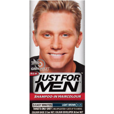 Just for Men Shampoo-In Hair Colour Light Brown FREE SHIPPING