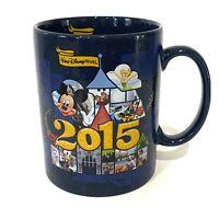 Walt Disney World Coffee Mug /Tea Cup Disney Parks Pixar 2015 Characters Blue XL