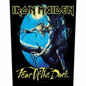 """IRON MAIDEN - """"FEAR OF THE DARK"""" - LARGE SIZE - SEW ON BACK PATCH"""