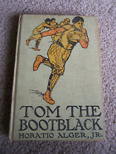 Tom the Bootblack Horatio Alger Jr. AKA A Western Boys Success 1889 Antique *