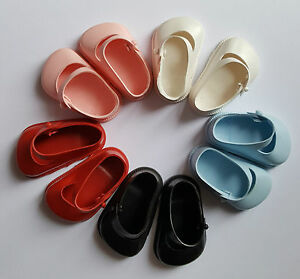 Vintage Cinderella dolls strap shoes size 0 Pedigree Palitoy teeny tears