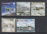 Guernsey: 2004 Second World War Memories (2nd Series) Set SG1027-1031 MNH CY266