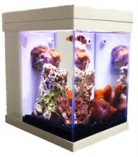 [White] JBJ Mini Cubey 3 Gallon Pico LED Series Nano Cube Aquarium Fish Tank