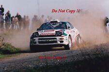 Juha Kankkunen Toyota Celica Turbo 4WD Rally New Zealand 1993 Photograph 3