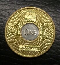 LA LOS ANGELES Good For One Base Fare - Bimetallic Transit Token  Mint Condition