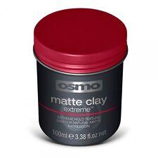 OSMO Opaco CLAY EXTREME Hold CERA Texture di aspetto naturale Forte Blocco 100ml