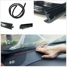 1.6m DIY Black Car Windshield Dashboard Insulation Sealing Strip Anti-Dust Seal