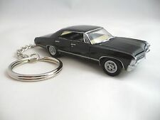 1967 Chevy Impala SS Black Sport Sedan Key Chain Supernatural Keychain