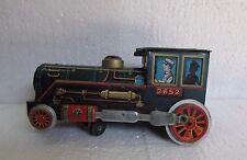 Vintage Old Rare  Tin Toy Locomotive Steam 3652 Modern Made In Japan,