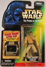 Star Wars Power of the Force Collection 1 Lando Calrissian General Freeze Frame