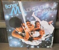 Boney M: Nightflight To Venus LP - 1st UK 1978 Hansa Press A1/B1 Picture Labels