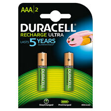 """DURACELL RECHARGE ULTRA, MINI STILO """"AAA"""", 2 PZ DURACELL"""