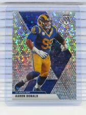 2020 Mosaic Aaron Donald No Huddle Disco Prizm Rams U5