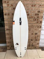 JS Monsta Surfboard with Glass fins